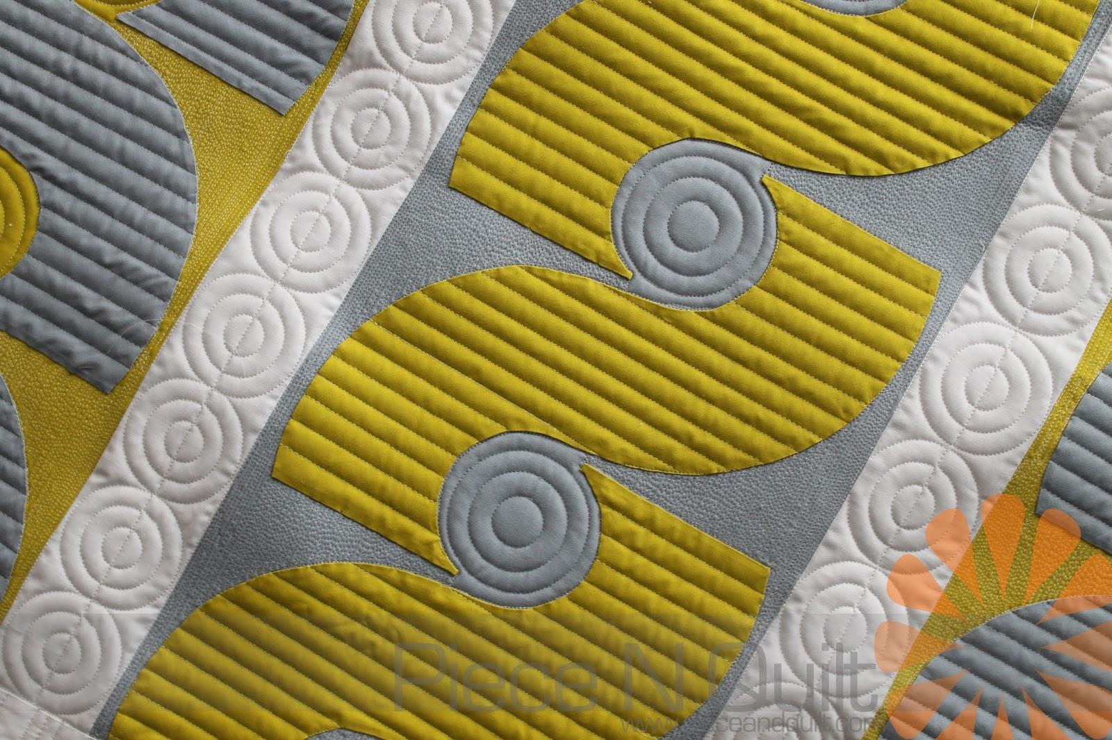 Piece N Quilt Custom Machine Quilting A Modern Quilt By