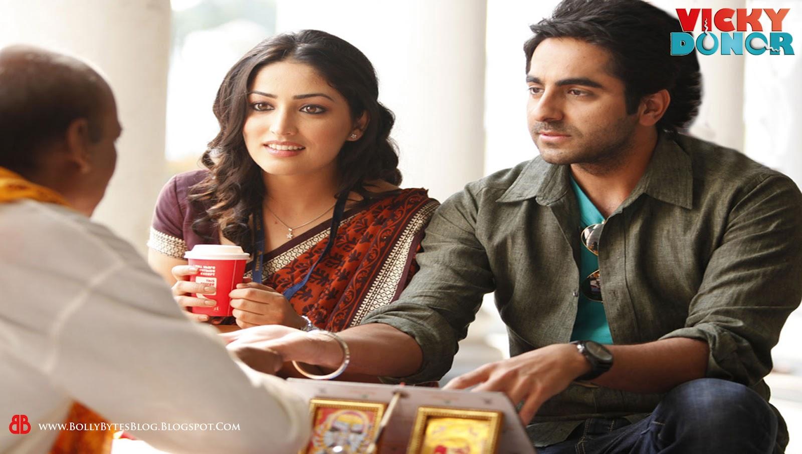 Vicky DonorYami Gautam And Ayushmann Khurrana In Vicky Donor