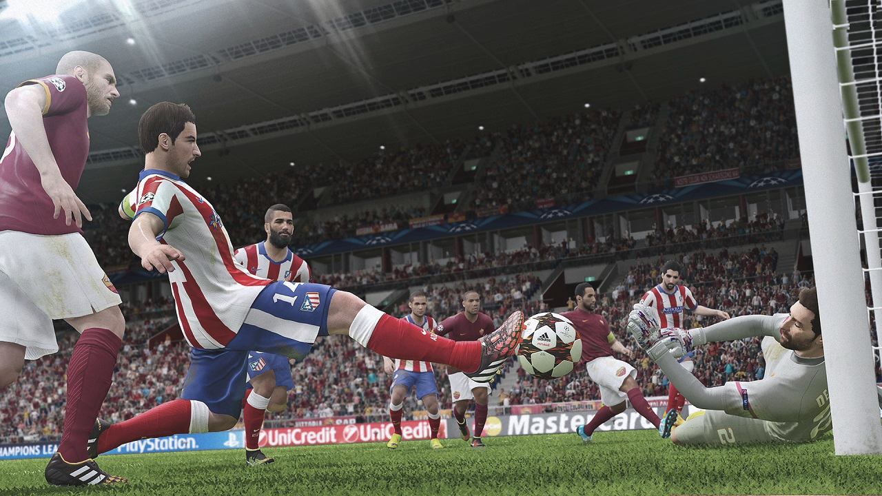 Pro Evolution Soccer 2015 - Free DLC et al with new faces