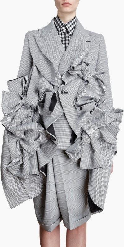 Comme des Garcons jacket via Barneys NY