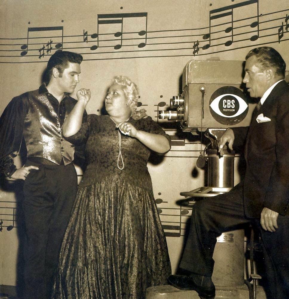 Elvis Presley, Leny Everson e Ed Sullivan