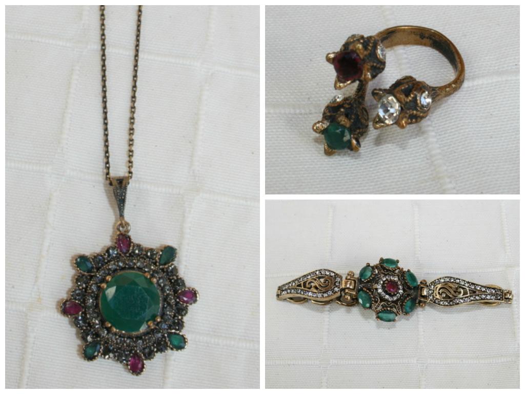 joyas turcas piedras colores