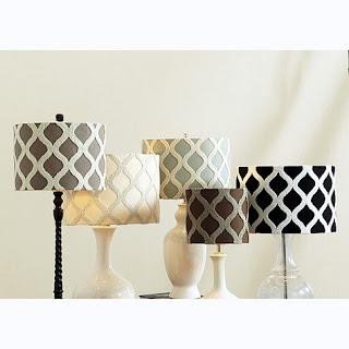 BALLARD INSPIRED HANGING LAMPSHADE CANDLEABRA