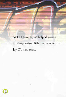 sample page #1 from JAY-Z  by Roman P. Nacerous
