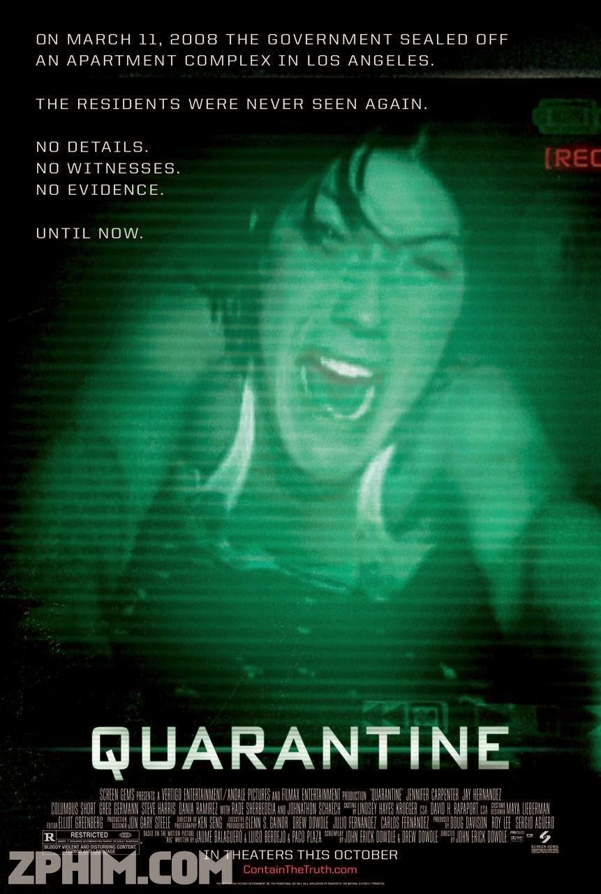 Cách Ly - Quarantine (2008) Poster