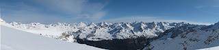 Blick in Richtung Alpenhauptkamm