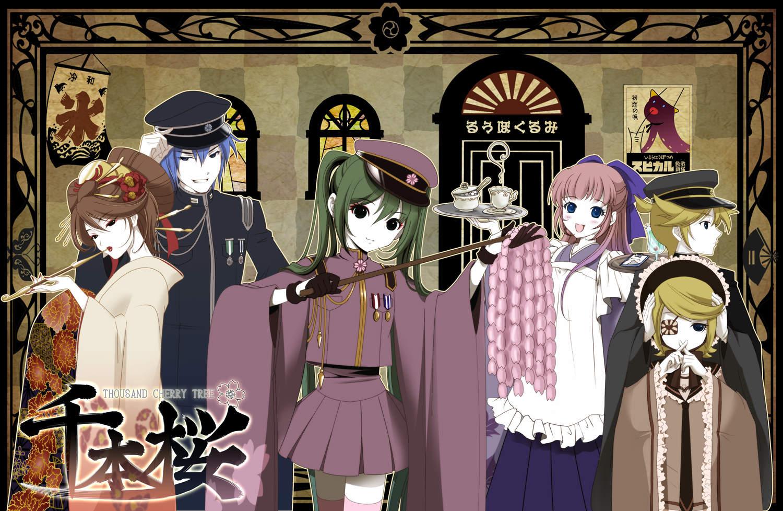 pankoi ❤ Vocaloid , 「千本桜」 歌 :初音ミク