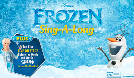 Frozen Sing a Long El Capitan Theatre Discount Tickets