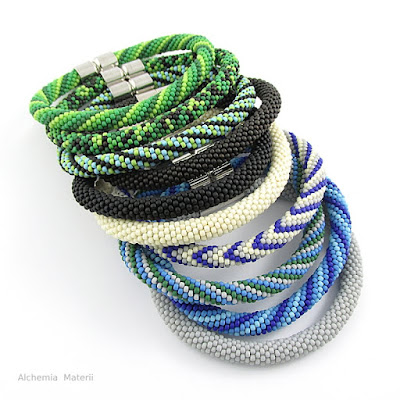 Mens Bracelets with beads