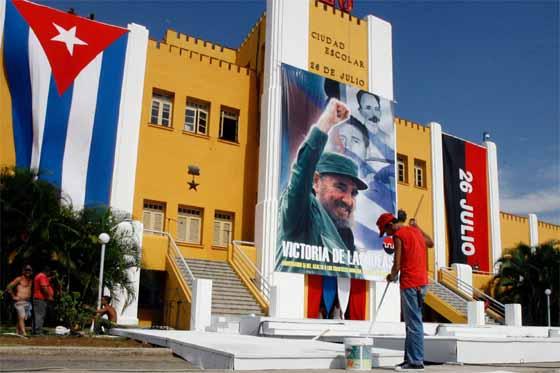 Cuartel Moncada en Santiago de Cuba.