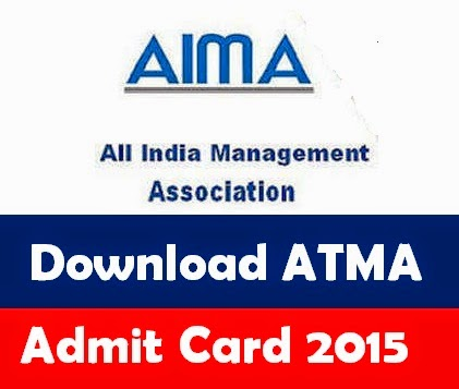 AIMS ATMA Admit Card 2015