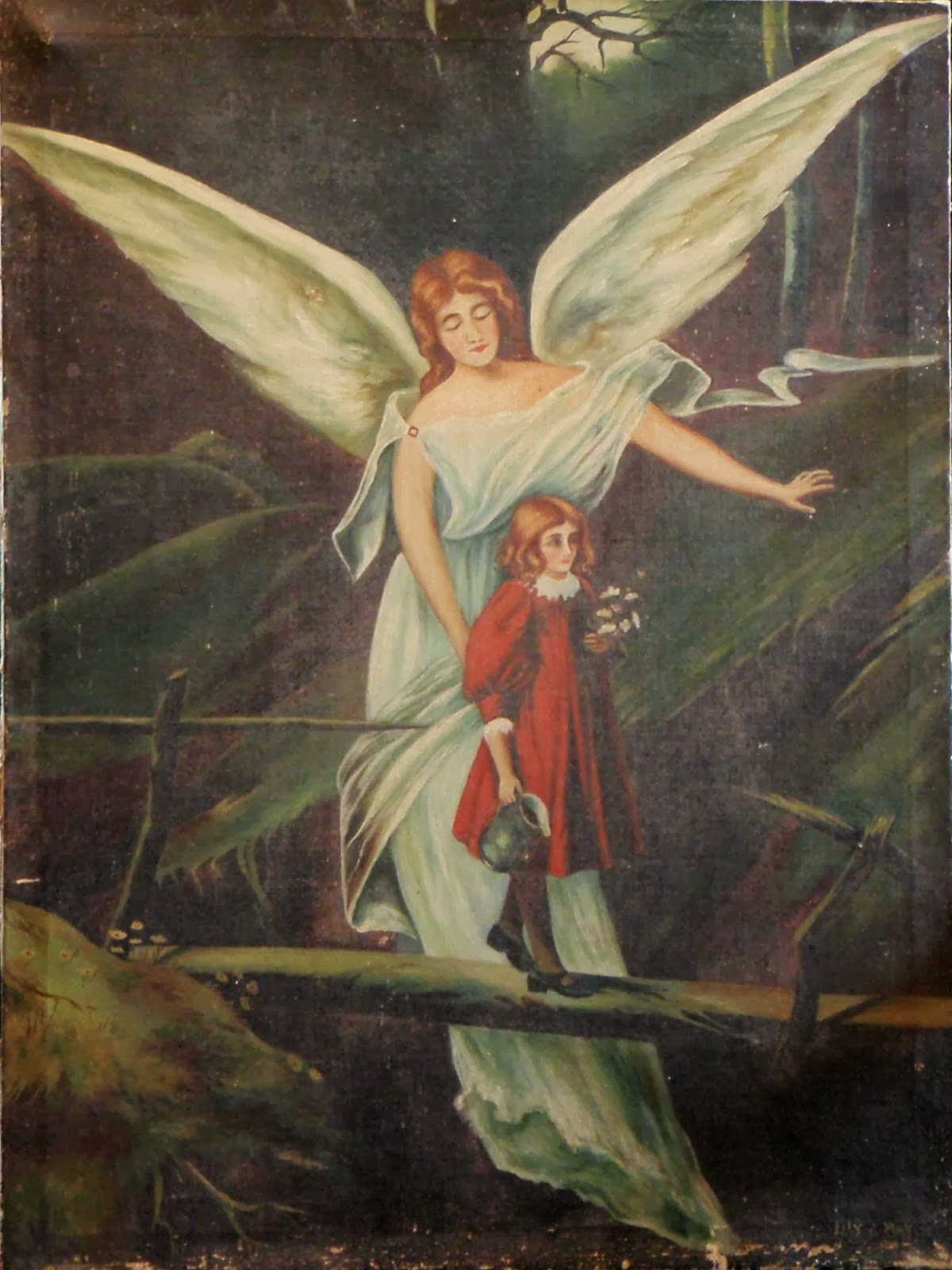 Classic Angel Painting Victorian painting at youClassic Angel Painting