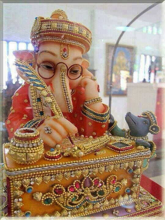 lord ganesha decorated