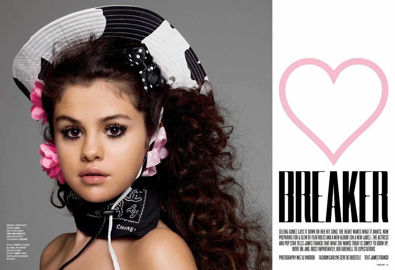 Selena Gomez's latest photoshoot for V Magazine