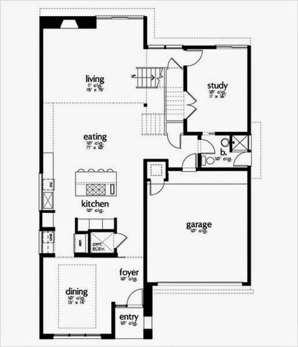Planos de casas gratis planos casas de 329 m2 for Oficinas modernas planos