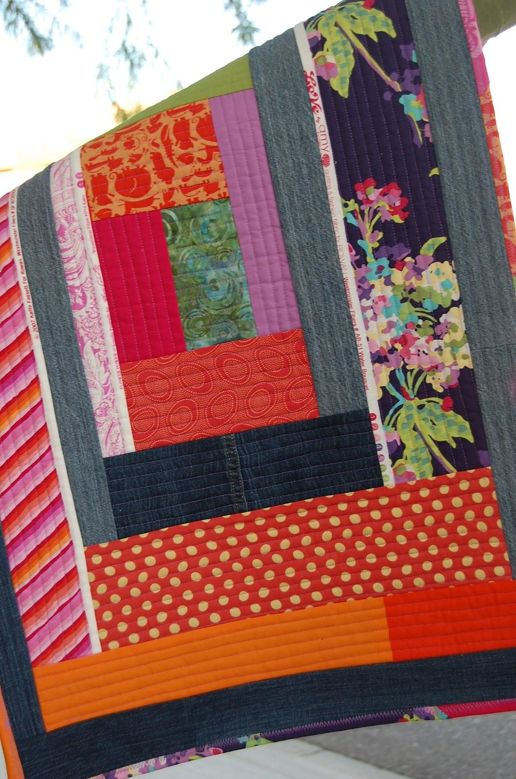 Melissa Loves Color Kitchen Mat Quilt As You Go