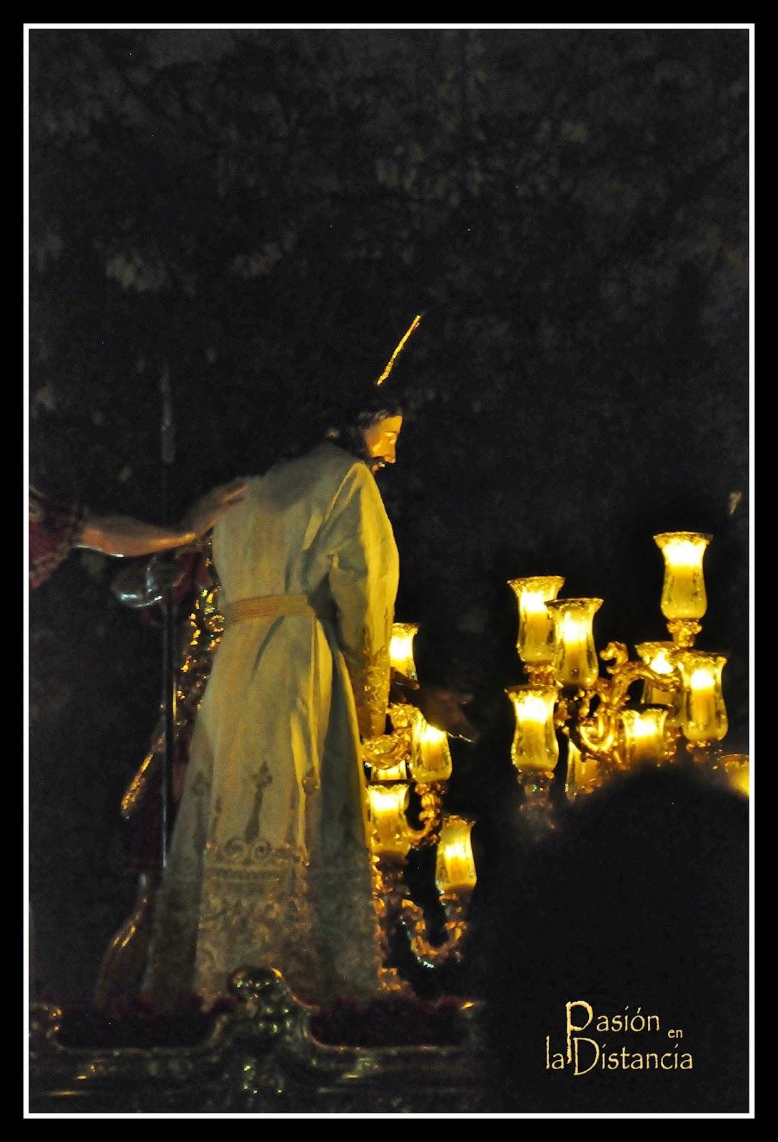 Entrada Señor del Silencio Blanco La Amargura Semana Santa 2014 Domingo de Ramos