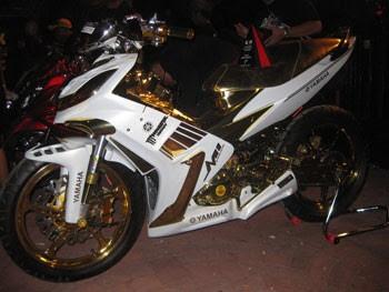 Modifikasi Sepeda Motor Jupiter Mx 2013