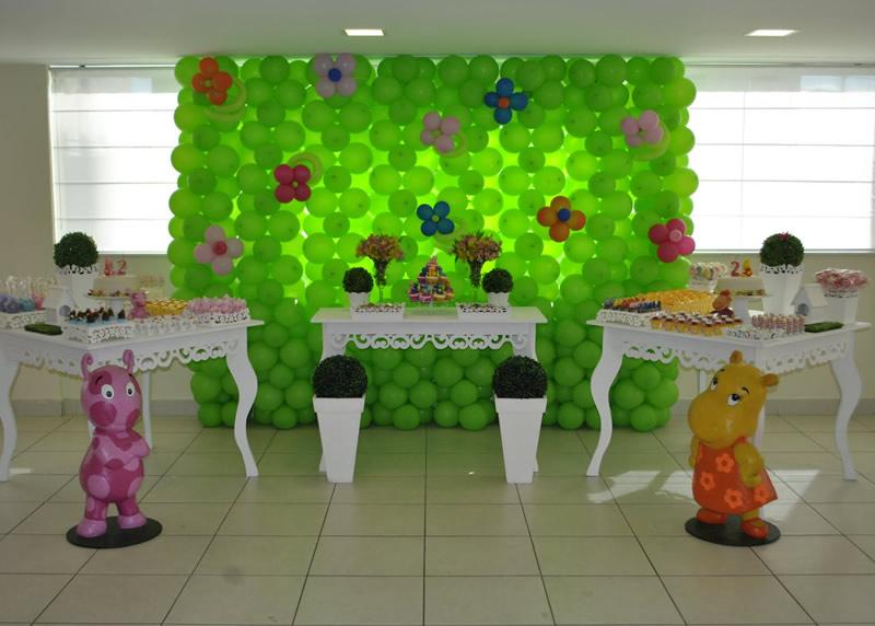 Decoracion backyardigans party decoracion en fiestas - Decoracion fiesta cumpleanos infantil ...