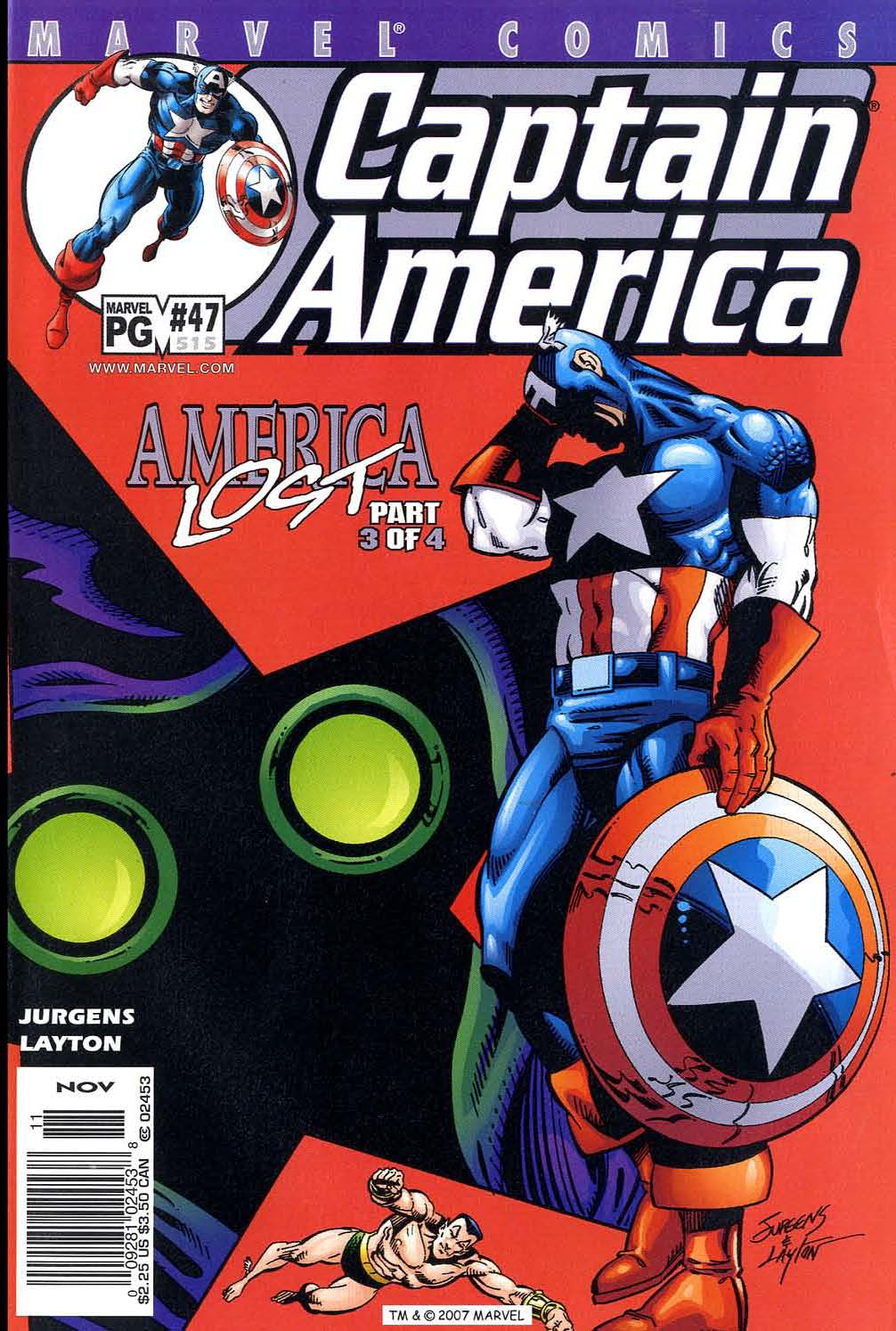 Captain America (1998) Issue #47 #54 - English 1