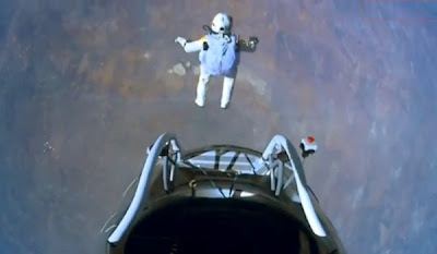 Felix Baumgartner: saltando desde el espacio