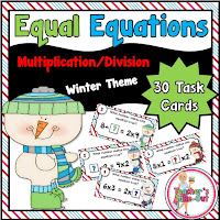 equal equations for multiply divide