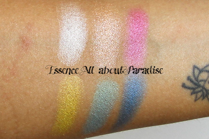 essence all about paradise eyeshadow palette drugstore