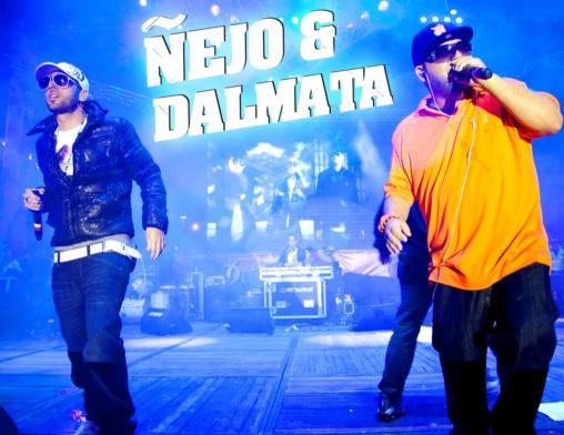 Ñejo y Dálmata en concierto