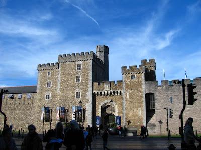 Cardiff Castle - Cardiff, Wales, UK