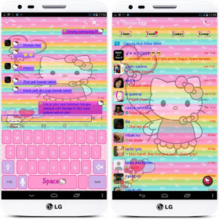 BBM Hello Kitty For Android 2.10.0.31 Terbaru 2015