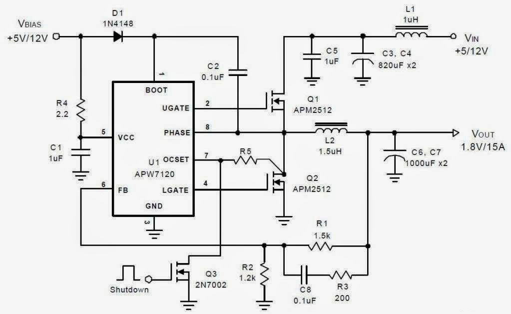asus p5ql motherboard north bridge power supply schematic diagram