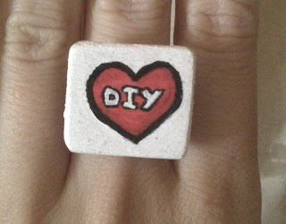 Crgc anillo DIY love