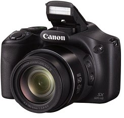 Flat 37% Off: Canon PowerShot SX520 HS Point & Shoot Camerafor Rs.11249 Only with Free 8 GB Card & Camera Bag@ Flipkart