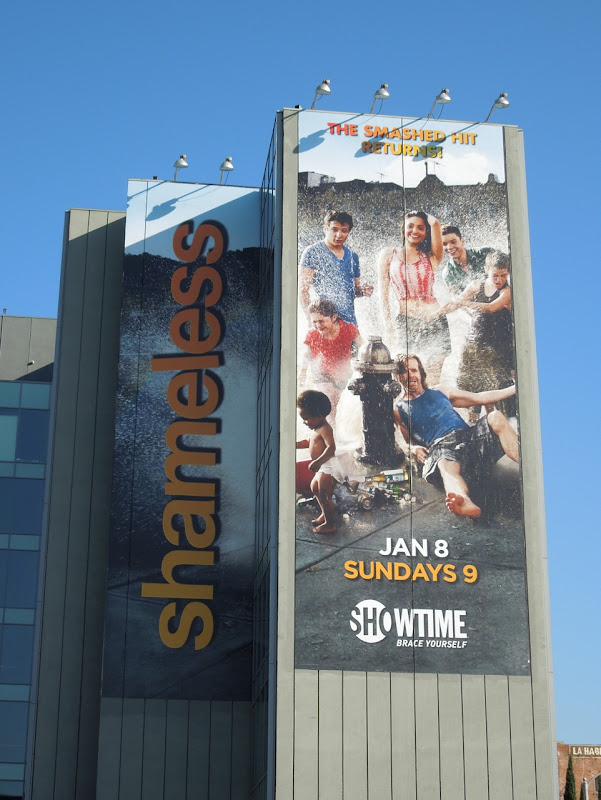 Shameless Showtime season 2 billboard