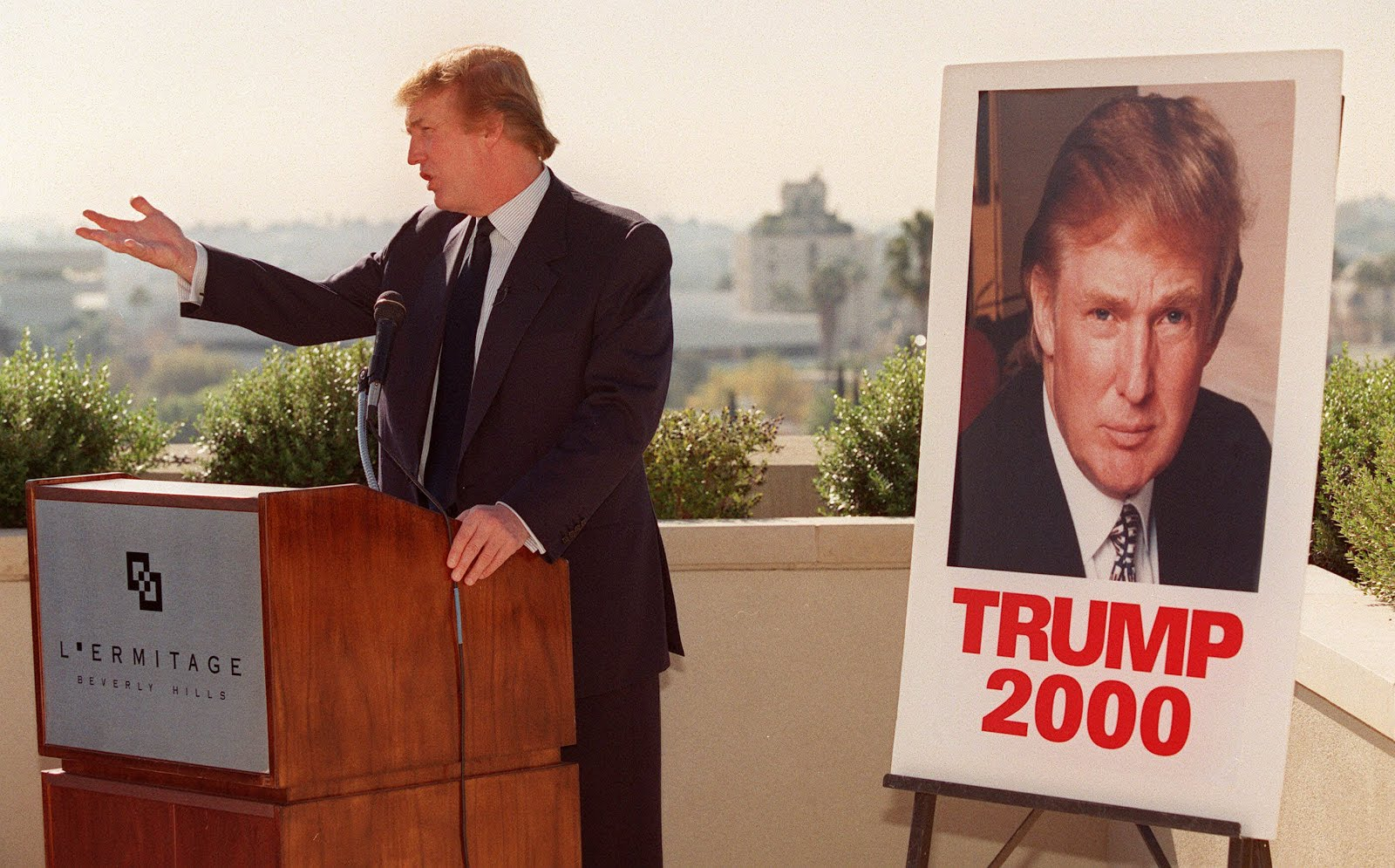 Donald Trump is always thinking of running for president blog