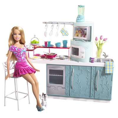 Barbie Kitchen Table Sets