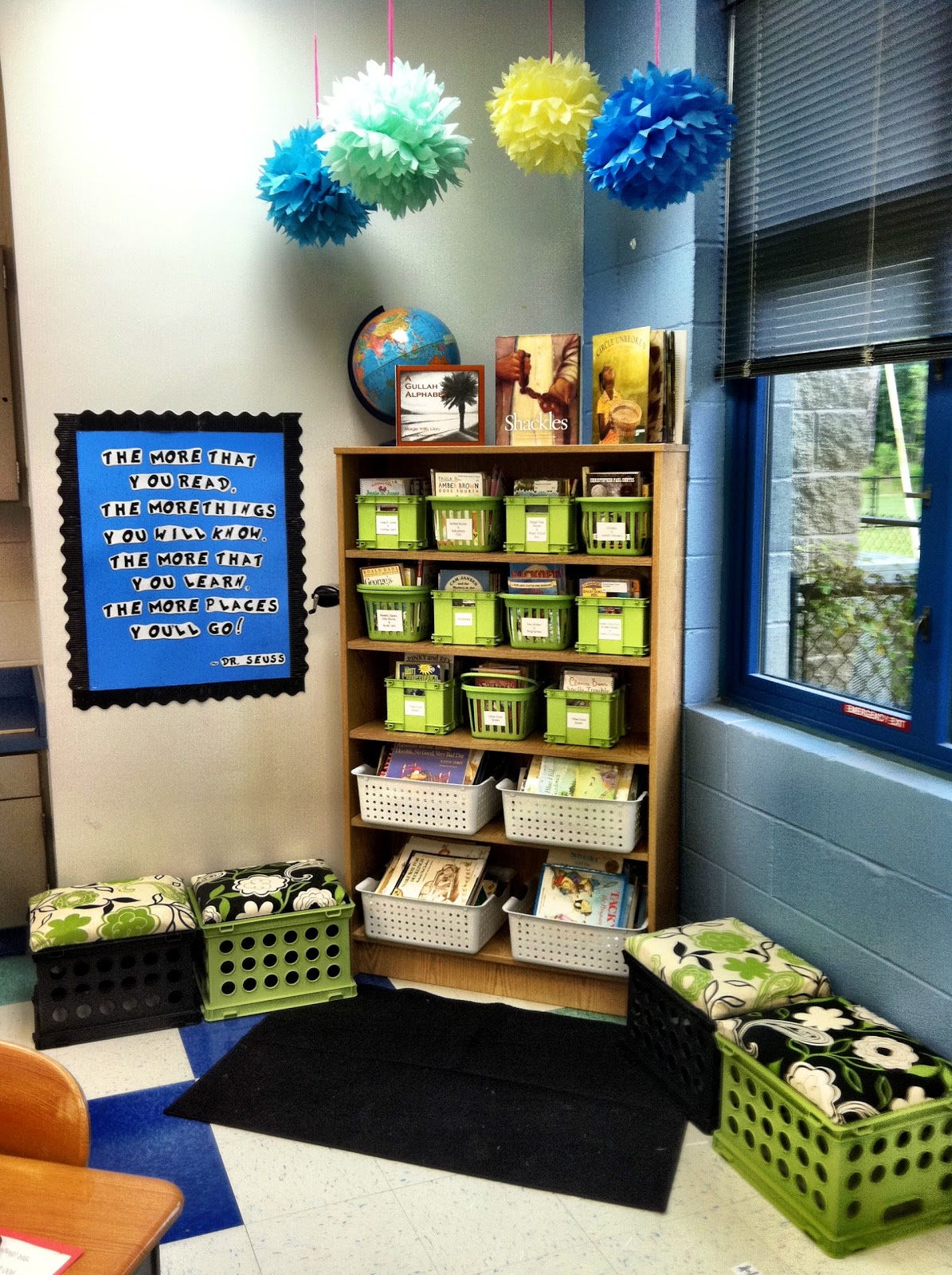 Classroom Library Decorating Ideas ~ Tupelo honey my classroom