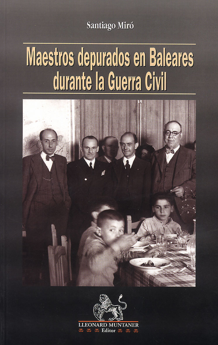 """Maestros depurados en Baleares durante la Guerra  Civil"""