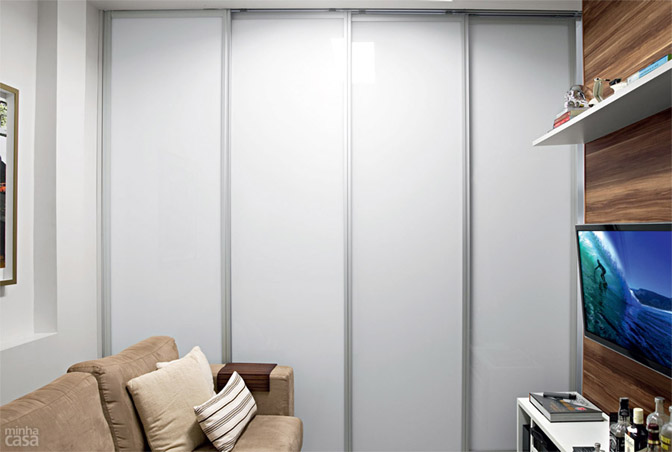 05 quitinete de 26 m2 aposta em moveis planejados e integracao de ambiente Boas ideias para apartamento pequeno ou quitinete!