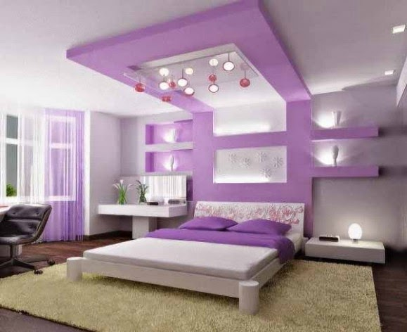 New Attractive Bedroom Wall Designs For Teenage Girls - Bedroom wall designs for teenage girls