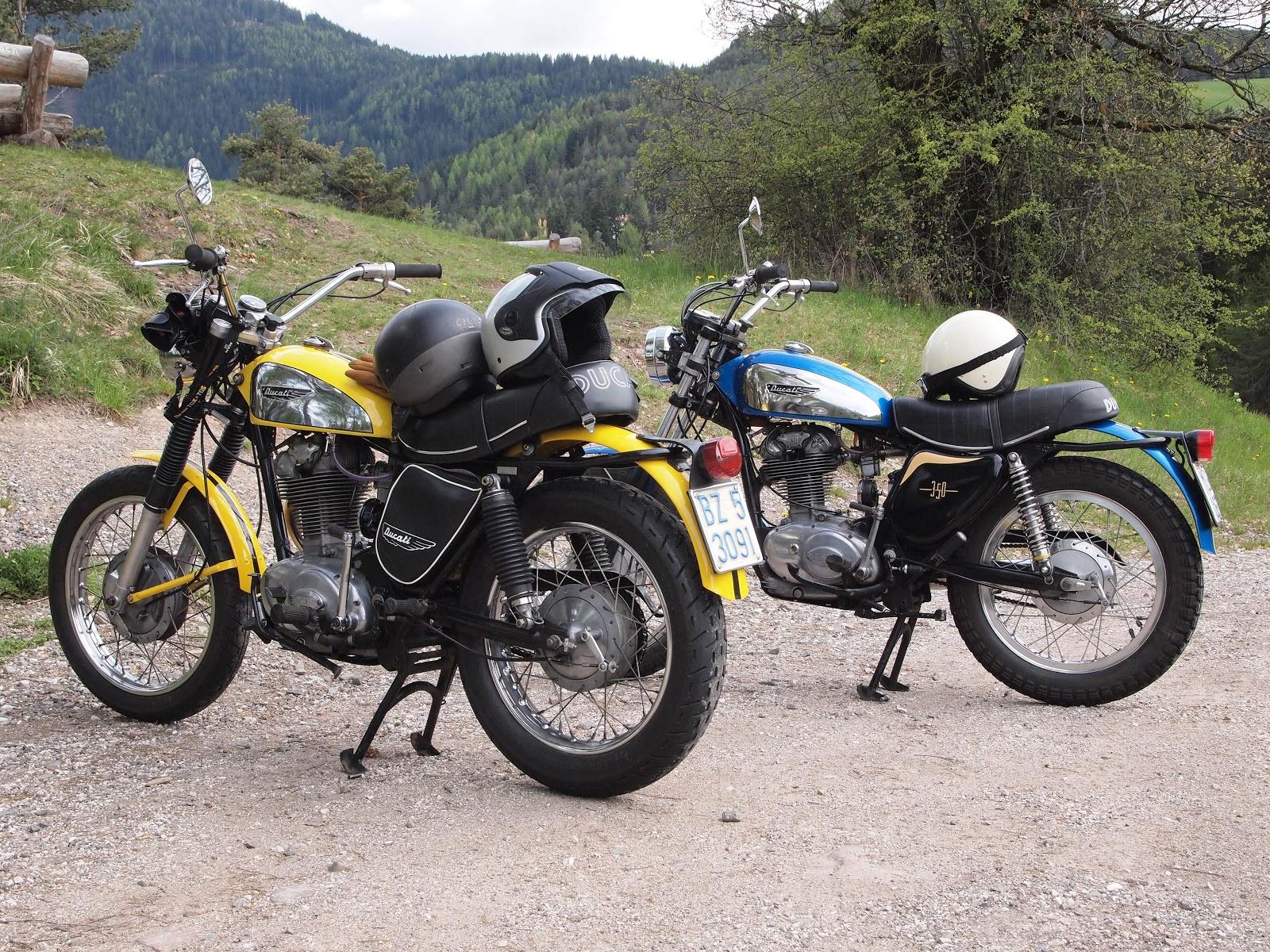 Omega Racer  Trip on a Ducati Scrambler