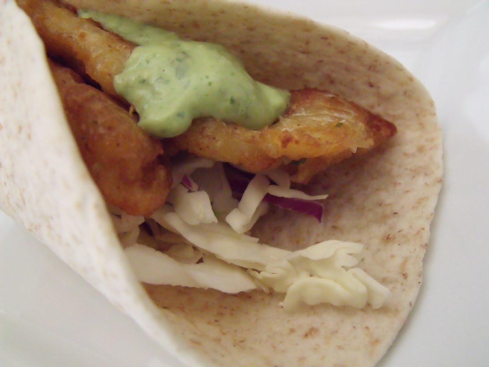 I am woman watch me cook fish tacos with baja sauce for Baja fish taco sauce