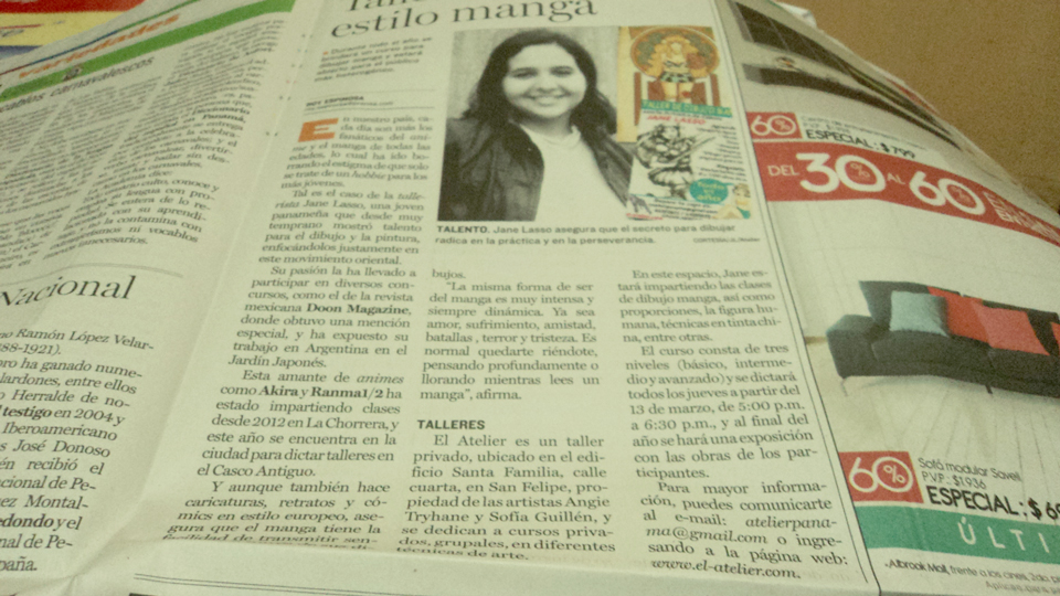 Artículo de Periodico en La Prensa