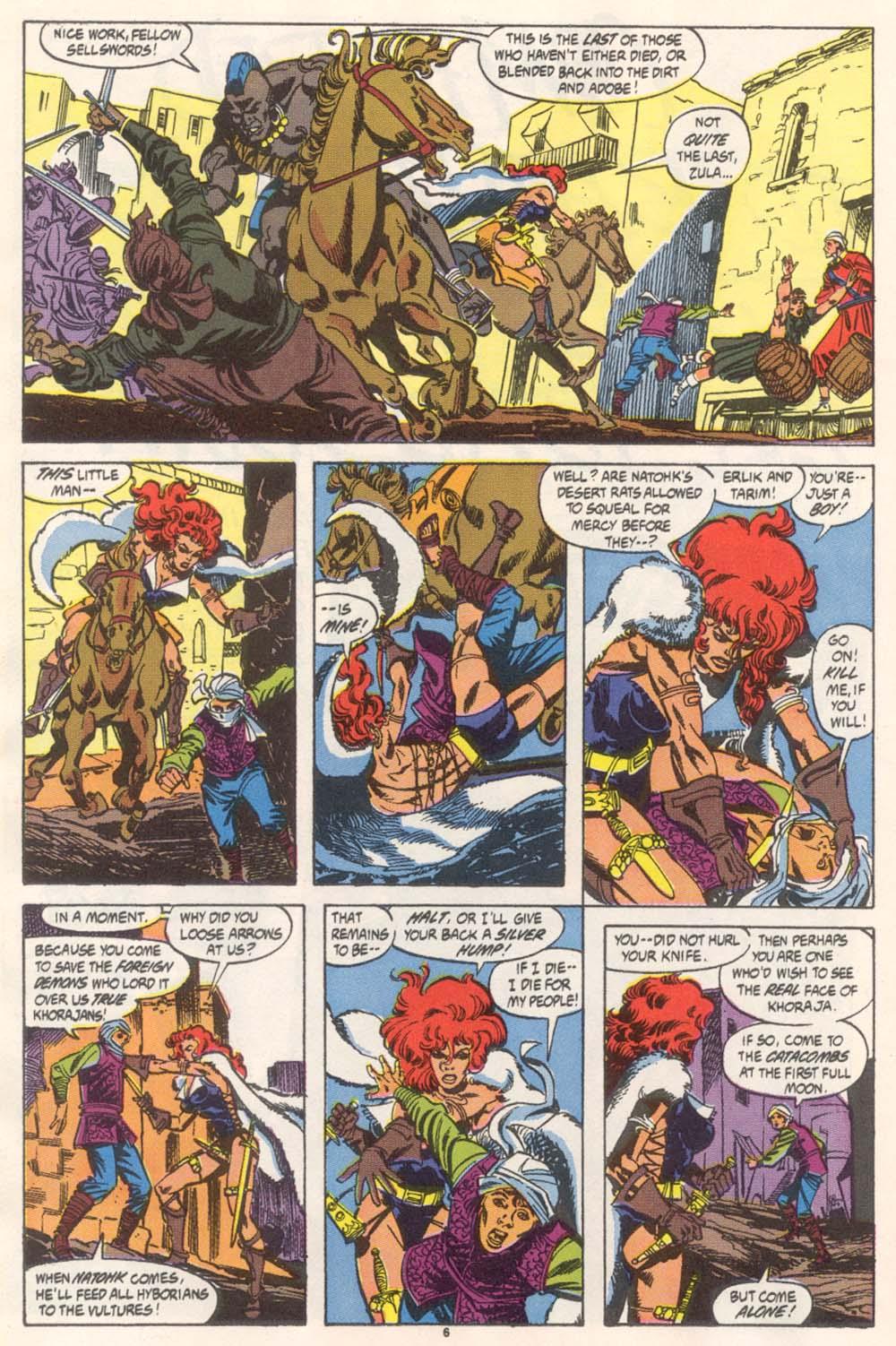 Conan the Barbarian (1970) Issue #246 #258 - English 6