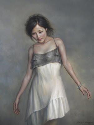 Retratos De Mujeres Chinas Oleo Liushi Zong