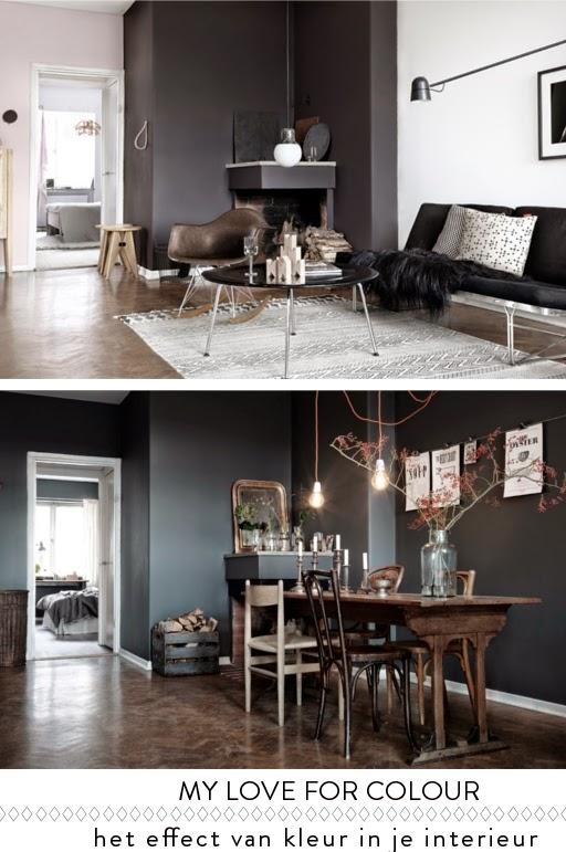 Het effect van kleur en styling op een ruimte villa d for Kleur mijn interieur