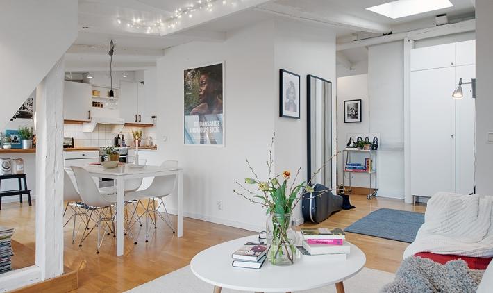 loft estilo nórdico