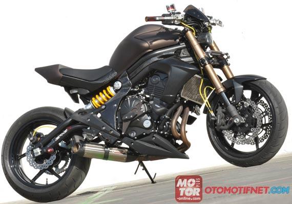 variasi ninja 250 street fighter