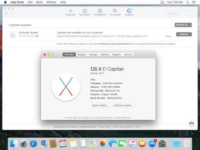 Update OS X El Capitan VMware Workstation