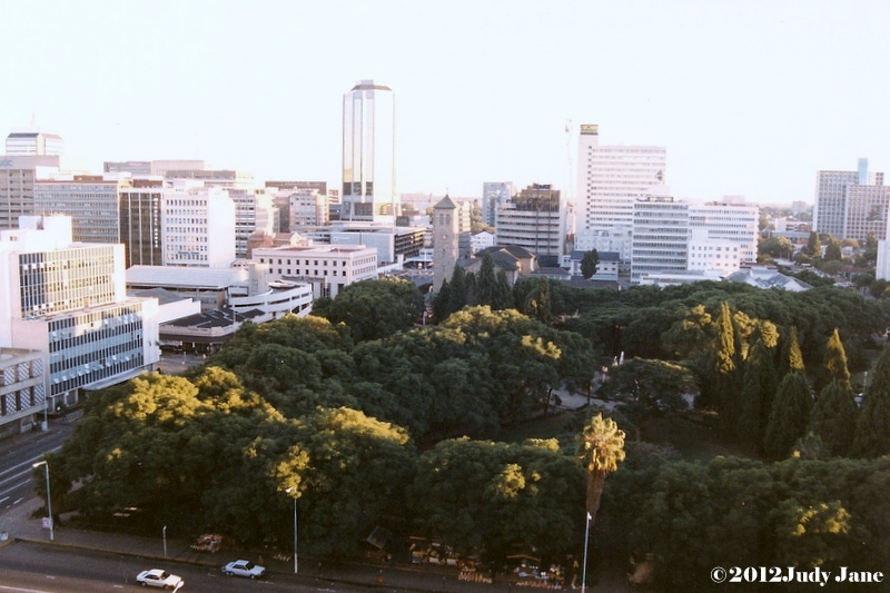 Harare, view from The Meikles